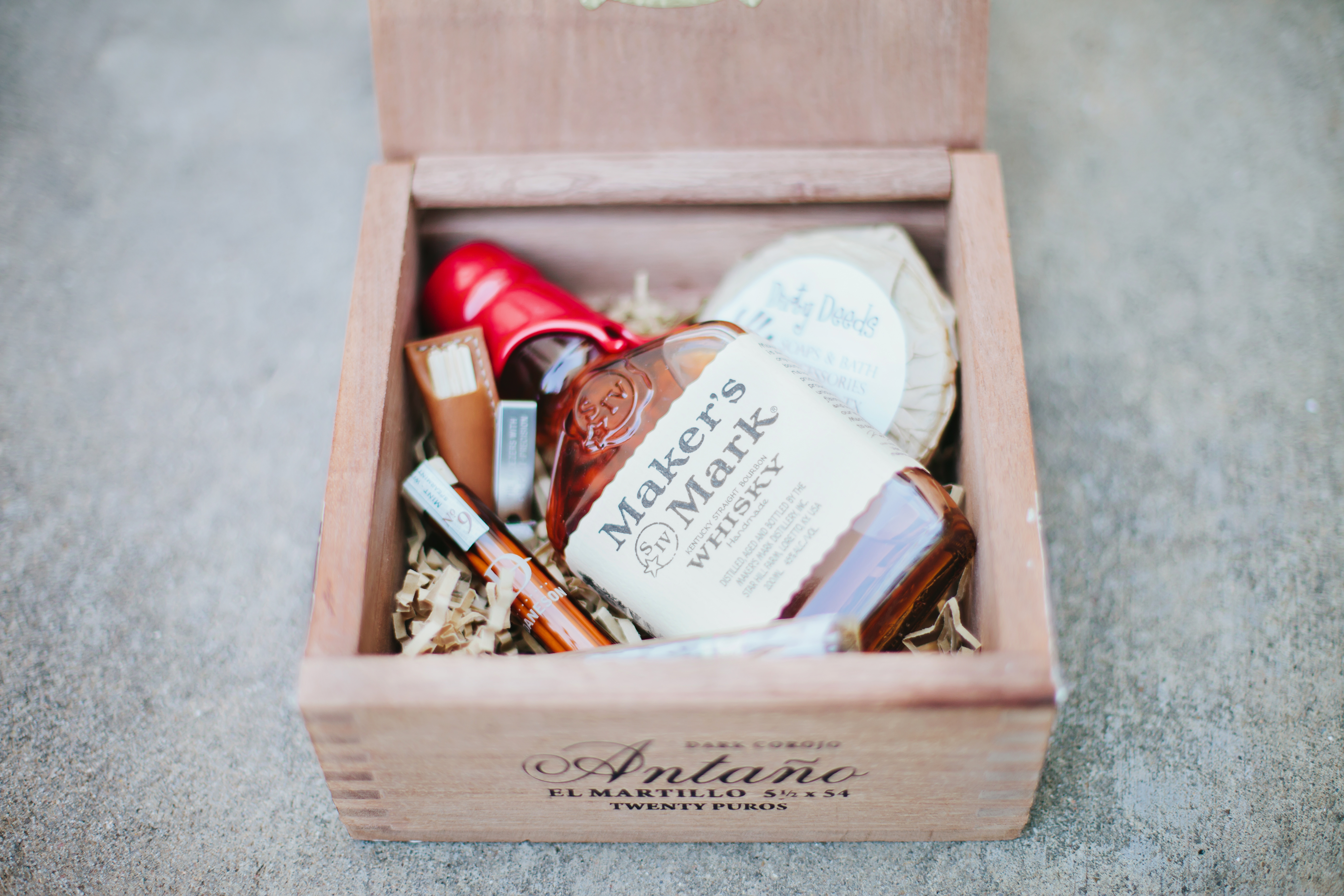 cigar box gifts Archives - Grit + Gold Event Design | Dallas ...