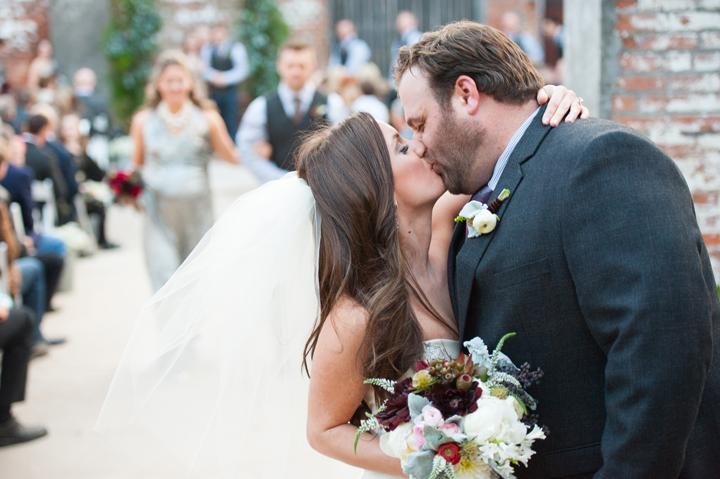 Wintry Woodland Wedding At Mckinney Cotton Mill Grit