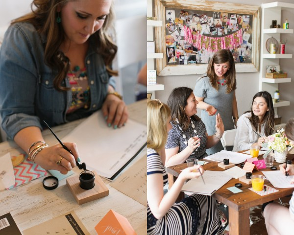 calligraphy-class-workshop-creative-fort-worth-studio-design-grit-and-gold-design-roots8