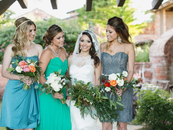 dallas-wedding-planner-and-designer-romantic-tuscany-inspired-wedding-mismatched-maids