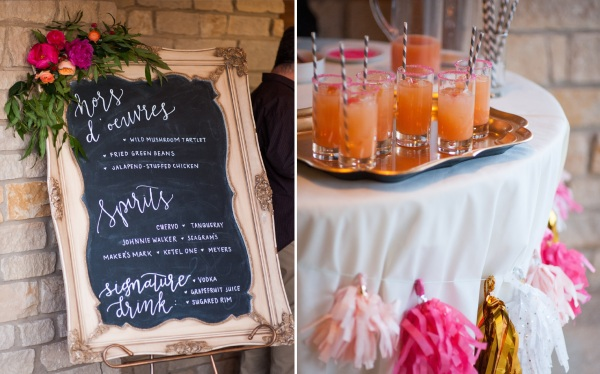 dallas-wedding-planner-bar-table-tassel-garland-chalkboard-art-signature-drinks