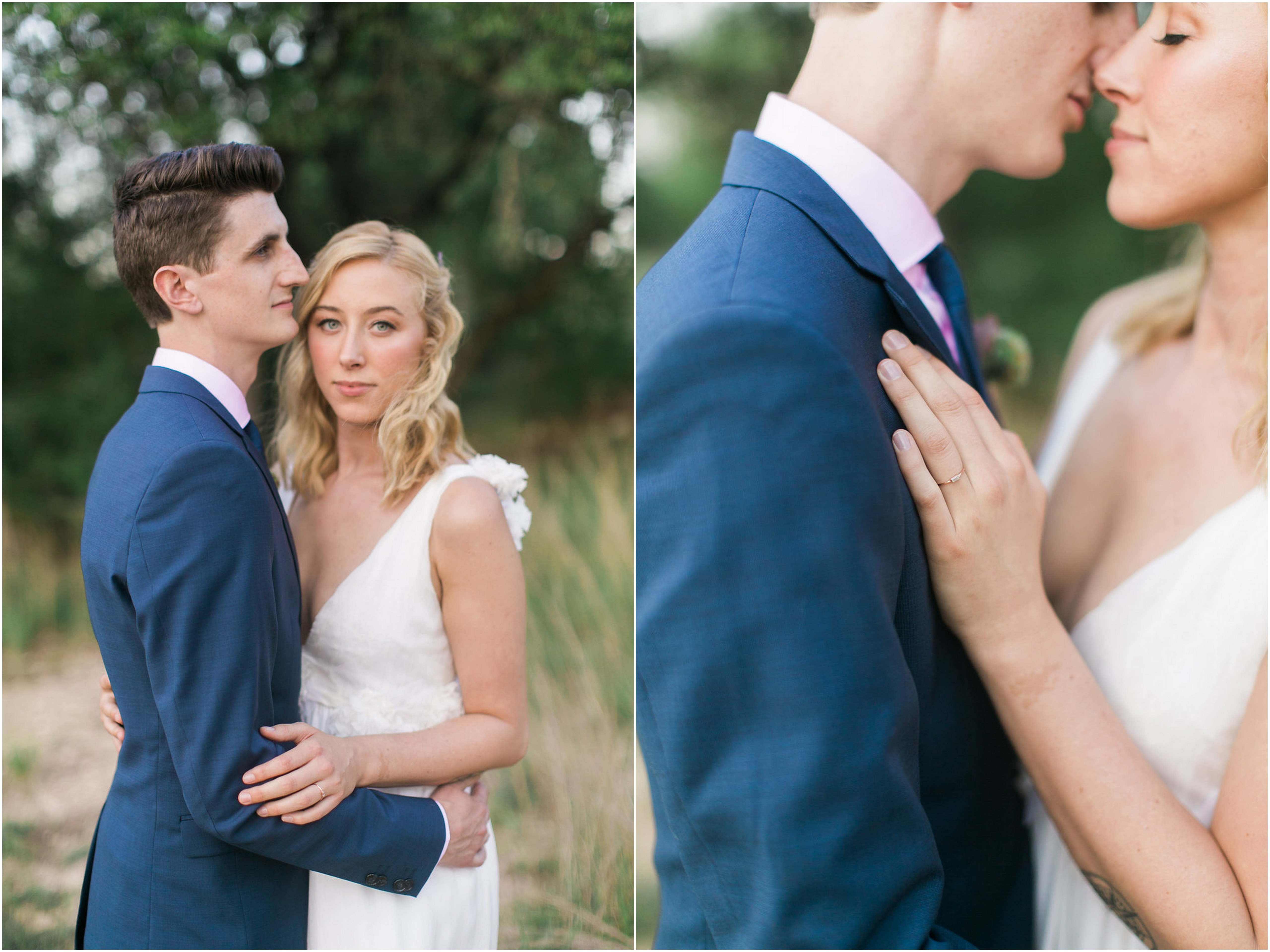Southern Bohemian Inspired Austin Wedding Grit Gold