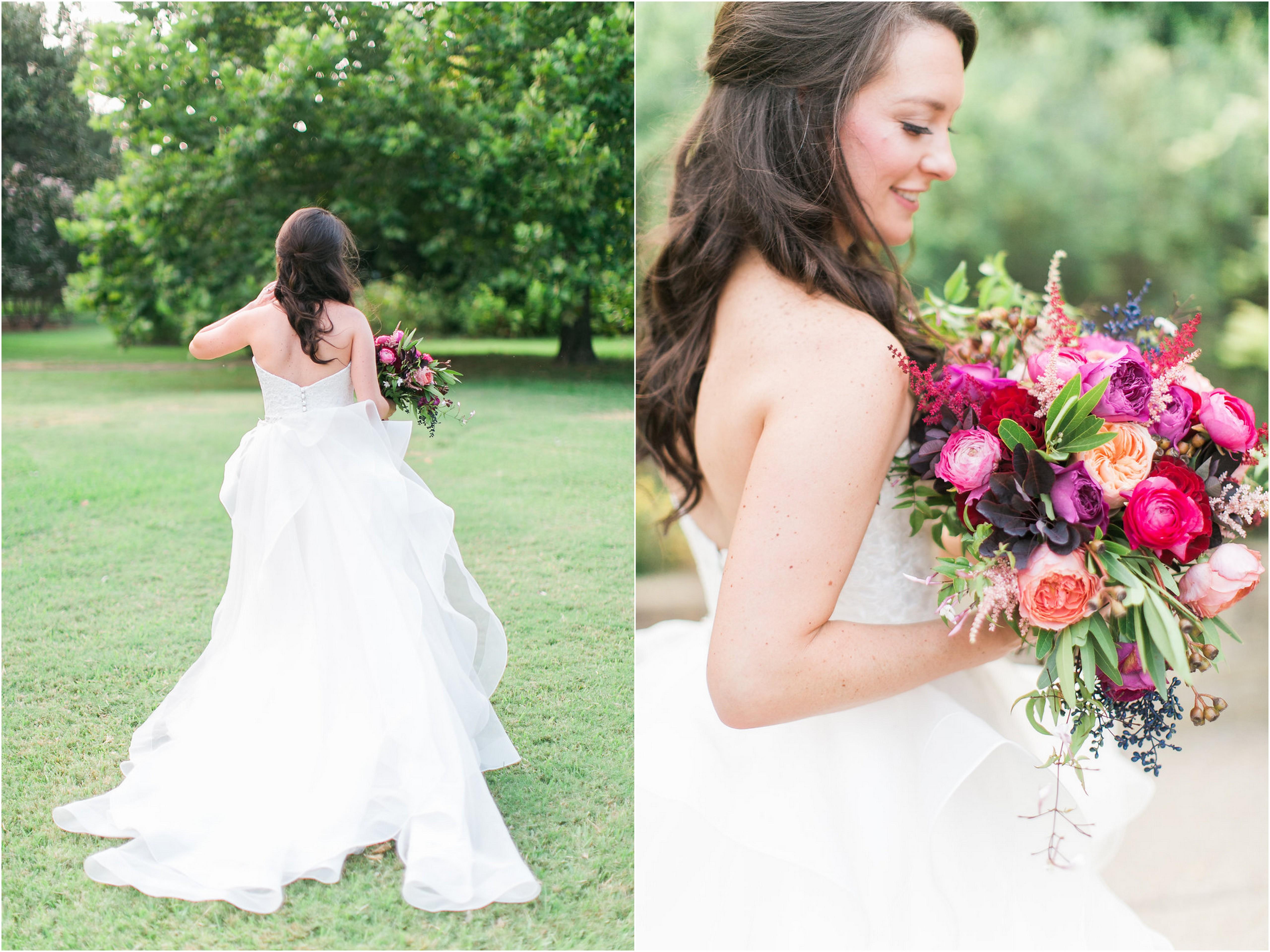 Fort Worth Botanical Garden Bridals with MaryEllen - Grit + Gold ...