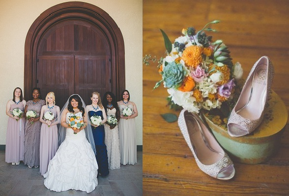 dallas-wedding-planner-grit-and-gold-mismatched-bridesmaids