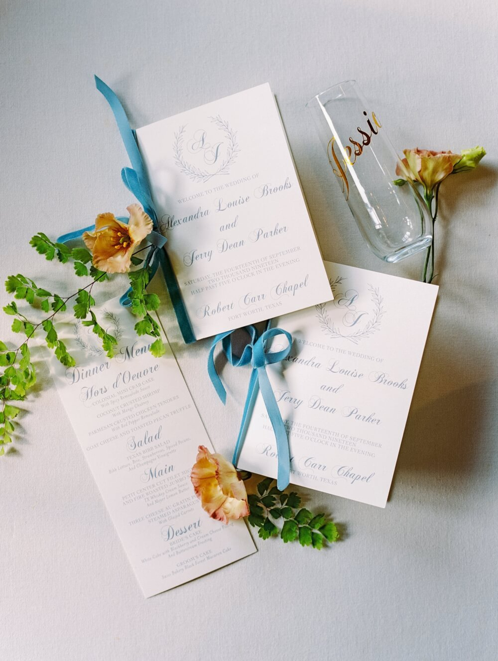 Becca Lea Photography, Fort Worth Wedding, Grit & Gold Events, Robert Carr Chapel, Colonial Country Club, De Ma Fille Bridal Boutique, Hayley Paige bridal, Q the MUA, Pretty Post Calligraphy, Something Pretty Floral, Marquee Rentals, Creme de la creme bakery, Intensity Band, Company N Films